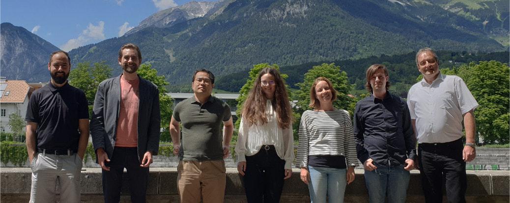 Das Team der Allgemeinen Psychologie Innsbruck, Prof. Pierre Sachse